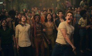 "Image from the film ""Stonewall,"" directed by Roland Emmerich. Photo by Philippe Bossé, courtesy of Roadside Attractions"