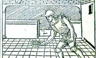 "What is thought to be one of the earliest printed pictures of a game of tennis, found in a book by Guillaume de La Perriere called ""Le theatre de bons engins"", or the theatre of fine devices, published in Paris in 1540. The 16th century images were found by archivists at the University of Glasgow in a newly acquired French printed picture book. Photo credit: University of Glasgow"