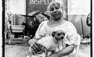 Bronx Photo League/Bronx Documentary Center  Images from Jerome Ave Workers Project.    Ramona, 54-years-old, has worked on Jerome Avenue since 1990. She has been the owner of YC&L Auto Repair for nine years.   See interview below.  Photo taken August 2015 by Edwin Torres/Bronx Photo League   OPENING RECEPTION Saturday, October 3, 2015 5-8PM Vasquez Muffler 1275 Jerome Avenue, Bronx, NY 10452 #4 train to 167th Street (please note this is not at the BDC's gallery) Free and open to all  ON VIEW October 3-18, 2015 Monday-Saturday  4Ð7PM Sundays 11AM-2PM  FEATURING: Ed Alvarez Trevon Blondet David ÒDeeÓ Delgado Melissa Bunni Elian Jesus Emmanuel Giacomo Francia Michael Kamber Netza Moreno Heriberto Sanchez Jonathan Santiago Rhynna M. Santos Adi Talwar Berthland Tekyi-Berto Edwin Torres Elias Williams Osaretin Ugiagbe  This exhibition documents and celebrates the workers and trades people of Jerome Avenue, one of New York City's few remaining working class neighborhoods where many still make a living in small shops and factories, or repairing automobiles. The city is considering a plan to rezone two miles along Jerome Ave: speculation and rising rents are already evident.  If passed, the rezoning will lead to construction of housing units, but also, many believe, to the end of a proud culture of industry and work in this last bastion of New York CityÕs working class.   The Bronx Photo League, a project of the BDC, is made up of 16 Bronx photographers committed to documenting social issues and change in our borough.  The Photo League works to present a balanced and nuanced image of the Bronx.  The Jerome Avenue Workers Project is the Photo League's first major exhibition.   The portraits in this show were shot on Kodak Tri-X negative film with Hasselblad cameras and lenses.  Authentic silver gelatin darkroom prints will be on display.   Interview with Ramona (Last name here):  I am the owner of the business. My ex-husband was the owner for 20 years and since 2006 I have w