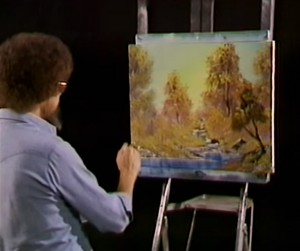 """Bob Ross's """"A Walk in the Woods."""""""