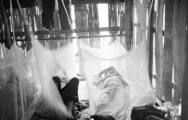 Malaria in Burma. Photo by Tom Stoddart Archive/via Getty Images