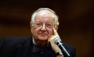 U.S.-British economist Angus Deaton listens to a question during a press conference after winning the Nobel Prize for Economics at Princeton University in Princeton, New Jersey, on October 12, 2015. Deaton won the Nobel Economics Prize for groundbreaking work using household surveys to show how consumers, particularly the poor, decide what to buy and how policymakers can help them. AFP PHOTO/JEWEL SAMAD        (Photo credit should read JEWEL SAMAD/AFP/Getty Images)