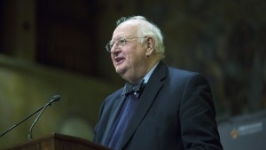"PRINCETON, NJ - OCTOBER 12:  Princeton Professor Angus Deaton speaks about winning the Nobel Prize in Economics at a press conference on October 12, 2015 in Princeton, New Jersey. The Nobel Committee said: ""To design economic policy that promotes welfare and reduces poverty, we must first understand individual consumption choices. More than anyone else, Angus Deaton has enhanced this understanding."" (Photo by Jessica Kourkounis/Getty Images)"