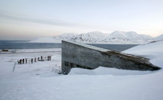 The Svalbard Global Seed Vault, pictured before its opening ceremony in 2008, is the Noah's Ark of the plant kingdom. Photo by Bob Strong/Reuters