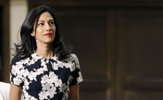 Huma Abedin, aide to U.S. Democratic presidential candidate Hillary Clinton, met with the House Select Committee on Benghazi today.  REUTERS/Carlos Barria - RTS4RQS
