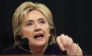 Democratic presidential candidate Hillary Clinton testifies before the House Select Committee on Benghazi, on Capitol Hill in Washington October 22, 2015. The congressional committee is investigating the deadly 2012 attack on the U.S. diplomatic mission in Benghazi, Libya, when Clinton was the secretary of state. Photo by Jonathan Ernst/Reuters