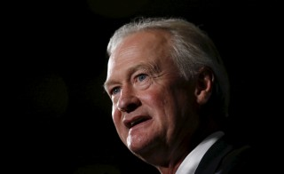 Former Rhode Island Gov. Lincoln Chafee announced Friday that he was ending his 2016 bid. Photo by Jim Young/Reuters