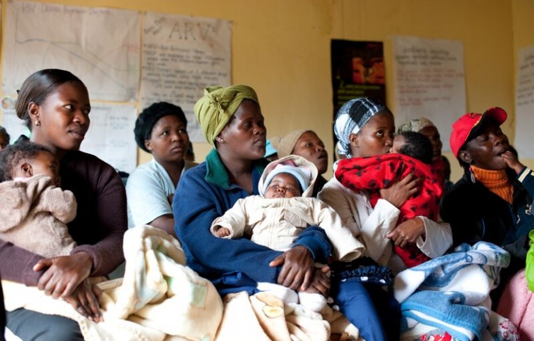 Mothers2mothers offers education and counselling to pregnant women in six African countries to get them on antiretroviral drugs and help prevent HIV transmission to their babies. Photo courtesy of mothers2mothers