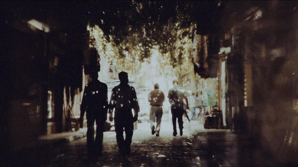 "A scene from Waref Abu Quba's short film ""In Damascus,"" shot in Damascus, Syria, in 2011."