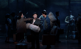 Allegiance George Takei on Broadway / not for reuse