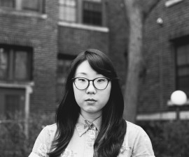 Poet Franny Choi. Photo by Reginald Eldridge
