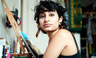 Poet Fatimah Asghar. Photo by Jason Riker