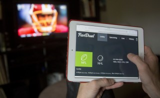 FanDuel and DraftKings, two leading companies of the multi-billion dollar fantasy sports industry, were recently deemed illegal gambling by New York's attorney general. Photo by Zia Morales/Bloomberg via Getty Images