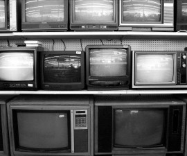 Einstein's theories on relativity kept box TVs from being blurry.  Photo by Michael J Fajardo/via Getty Images