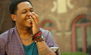 Poet Danez Smith. Photo courtesy of Danez Smith
