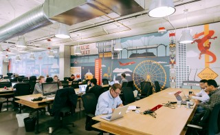 WeWork office sharing