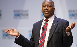 Republican candidate Dr. Ben Carson. Photo by Chris Keane/Reuters