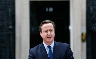 "Speaking from London, Britain's Prime Minister David Cameron gives a statement to the press after a leading British member of Islamic State and three other foreign militants have been killed in U.S.-led air strikes in northern Syrian town of Raqqa. Cameron said officials were still assessing the outcome of the airstrike, including whether the British citizen known as ""Jihadi John,"" who appeared in Islamic State videos showing the killings of American and British hostages, had died. Photo by Stefan Wermuth/Reuters"