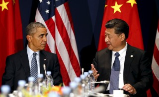 U.S. President Barack Obama meets with Chinese President Xi Jinping at the start of the two-week climate summit in Paris Monday. Photo by Kevin Lamarque/Reuters