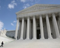 The Supreme Court is in today, starting a new term of cases that address several wrenching social issues and policy disputes, such as affirmative action, abortion, immigration and Obamacare. Photo by Larry Downing/Reuters