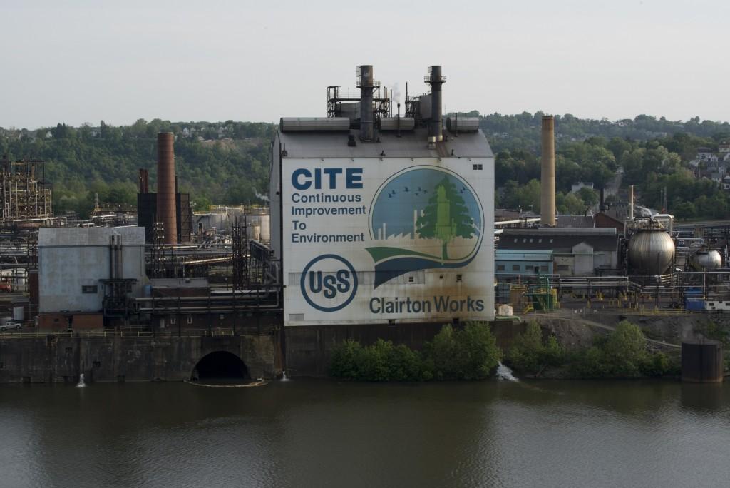 """United States Steel Clairton Coke Works, C.I.T.E. and  Monongahela River 2013."" Photo by LaToya Ruby Frazier"