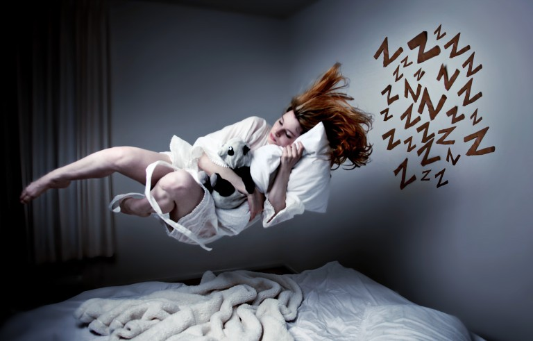 Flying is one of the most common dreams, but so is falling. Photo by Severine Arend/via Getty Imaages
