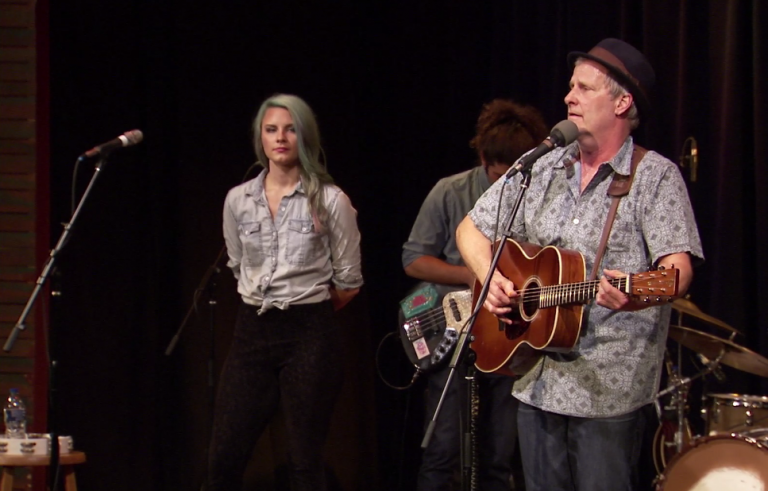 "Jeff Daniels plays ""Wicked World"" for the PBS NewsHour."