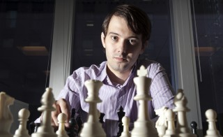 File photo of Martin Shkreli in New York on Aug. 10, 2011. Photo by Paul Taggart/Bloomberg via Getty Images