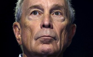 Former New York City Mayor Michael Bloomberg attends a meeting during the World Climate Change Conference 2015 (COP21) at Le Bourget, near Paris, France. Photo By Stephane Mahe/Reuters