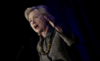 Democratic U.S. presidential candidate Hillary Clinton addresses the 2015 National Immigrant Integration Conference in the Brooklyn borough of New York City on Dec. 14, 2015. Clinton is expected to address anti-terror efforts in the wake of the deadly attacks in Paris and southern California in a speech from St. Paul, Minnesota, today. Photo by Mike Segar/Reuters