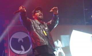 RZA of the Wu-Tang Clan performs during the Coachella Music Festival in 2013. Photo by Mario Anzuoni/Reuters