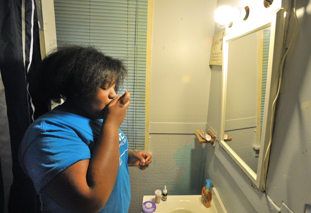 why stress be fueling the childhood asthma epidemic pbs newshour cameron carter 12 takes eight medications every morning to deal her asthma