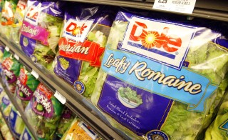 Packaged salads produced at a Dole facility in Ohio are linked to one death in Michigan, the Centers for Disease Control and Prevention said Friday. Photo by Justin Sullivan/Getty Images