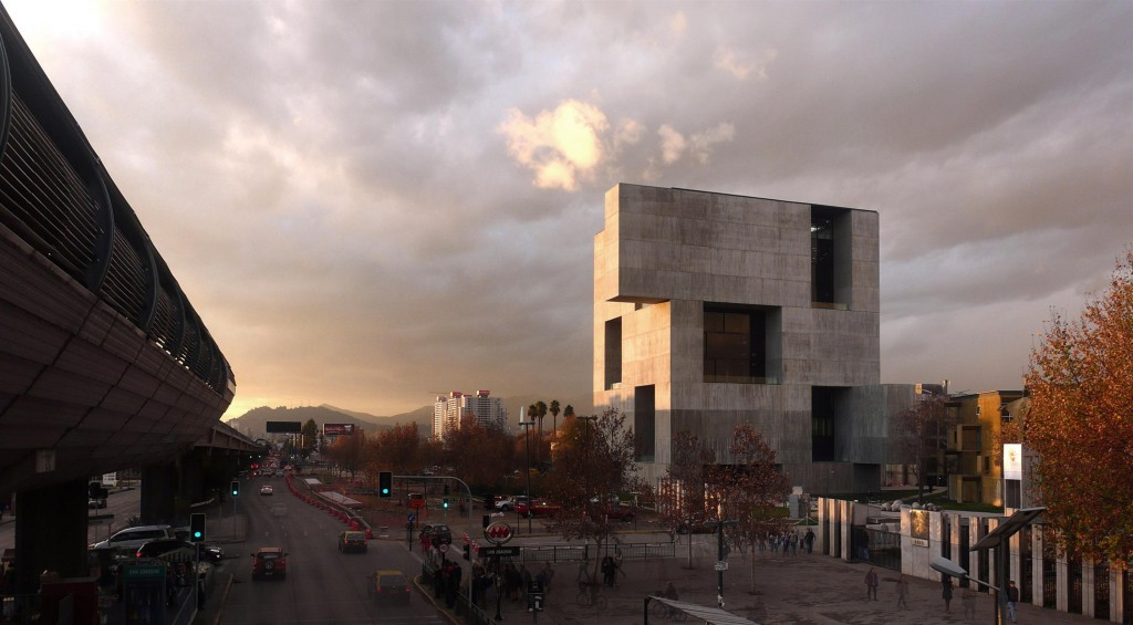 Aravena designed the Angelini Innovation Center for the Catholic University's campus in San Joaquin, Chile. Photo by Felipe Diaz