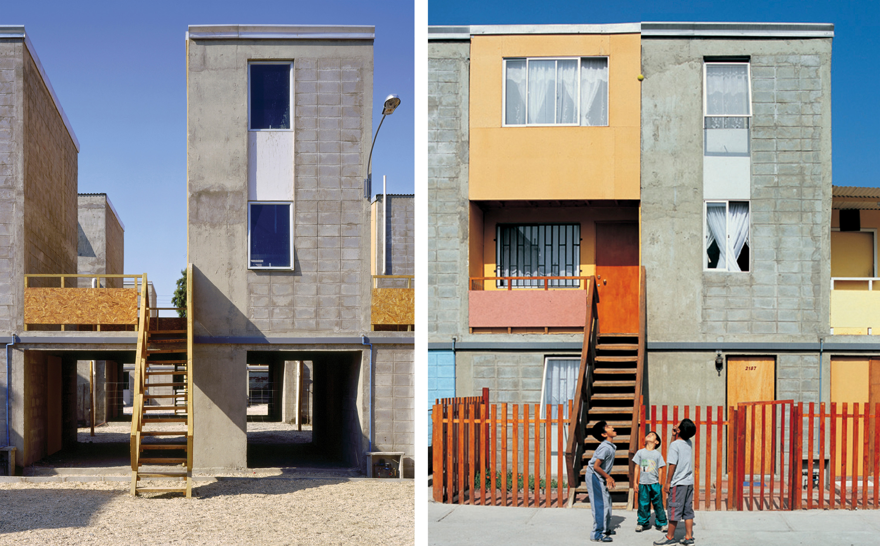 Elemental Built A Series Of Low Income Housing Units At The Request Chilean