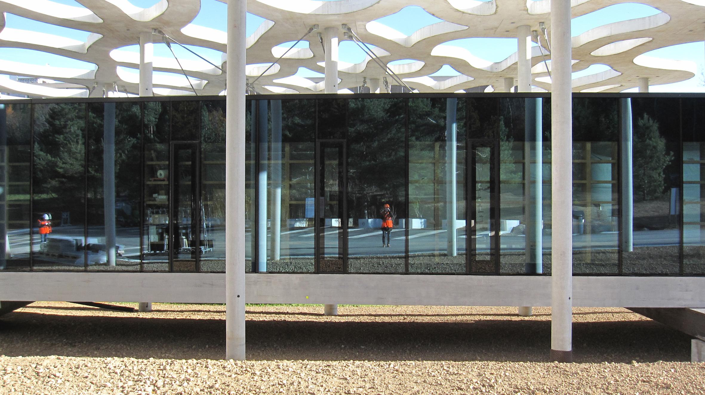 This Elemental design was for a writer's cabin for the Jan Michalski Foundation in Montricher, Switzerland. Photo by +2 Architectes