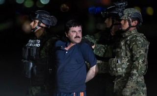 "It appears more likely than ever that American prosecutors will eventually get their hands on drug lord Joaquin ""El Chapo"" Guzman. Photo by Daniel Cardenas/Anadolu Agency/Getty Images"