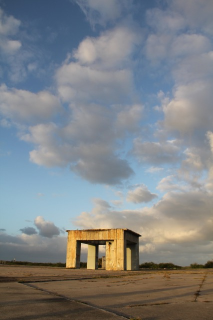 "Apollo 1 Launch Pad, ""Abandon in Place"" Kennedy Space Center, FL. Photo courtesy of Michael Wilkinson."