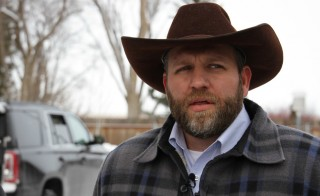 Ammon Bundy is the leader of the occupation that took over the Malheur National Wildlife Refuge building on Saturday. Photo by Amanda Peacher/OPB