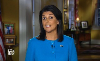 Nikki Haley delivers the GOP response to President Obama's 2016 State of the Union address.