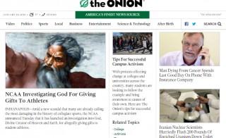 Image courtesy of The Onion Inc.