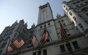 Trump is pouring a $200 million into the Old Post Office Building.   Photo By Gary Cameron/Reuters