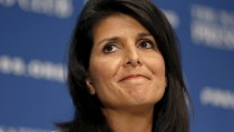 South Carolina Gov. Nikki Haley will deliver the GOP response following President Obama's final State of the Union address. Photo by Kevin Lamarque/Reuters