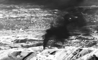 The Aliso Canyon gas storage field which has been leaking across the Porter Ranch area of Los Angeles, California is shown in this frame grab from infrared video released to Reuters January 15, 2016. REUTERS/Earthworks via Environmental Defense Fund/Handout via Reuters    ATTENTION EDITORS - THIS PICTURE WAS PROVIDED BY A THIRD PARTY. REUTERS IS UNABLE TO INDEPENDENTLY VERIFY THE AUTHENTICITY, CONTENT, LOCATION OR DATE OF THIS IMAGE. EDITORIAL USE ONLY. NOT FOR SALE FOR MARKETING OR ADVERTISING CAMPAIGNS. NO RESALES. NO ARCHIVE. THIS PICTURE IS DISTRIBUTED EXACTLY AS RECEIVED BY REUTERS, AS A SERVICE TO CLIENTS      TPX IMAGES OF THE DAY      - RTX22LOV