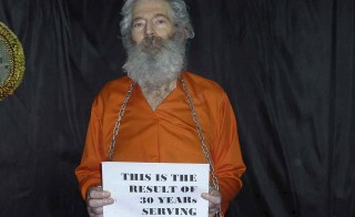 Robert Levinson, a former FBI agent and DEA agent, who disappeared in Iran in 2007, is shown in this undated handout photo released by the Levinson family. Levinson was not on the list of U.S.-Iran prisoner exchange. Photo from Levinson family/Handout via Reuters