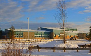 The Dene high school campus of the La Loche Community School is seen in an undated photo. Four people were killed and two critically injured in a school shooting in a remote part of Saskatchewan on Jan. 22, 2016 and a suspect is in custody.  Photo By Raymond Dauvin/Reuters