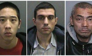 Inmates Jonathan Tieu, 20, Hossein Nayeri, 37, and Bac Duong, 43, (L to R) are seen in an undated combination photo released by the Orange County, California, Sheriff's Department. The three inmates, an accused murderer and two other California prisoners, were still at captured this week after escaping an Orange County jail on Jan. 22, 2016. A massive manhunt for the trio Orange County Sheriff's Department/Reuters