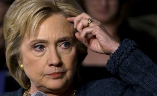 "Just three days before the Iowa caucuses, the  Obama administration confirmed that Hillary Clinton's unsecured home server contained information deemed to be ""top secret."" Photo by Rick Wilking/Reuters"