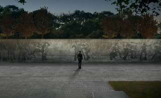 An artist rendering of the first national World War I memorial proposed for construction in Washington, D.C. Image courtesy of Sabin Howard and Joe Weishaar