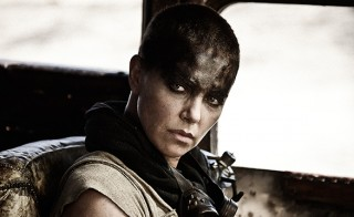 """Charlize Theron appears in """"Mad Max,"""" which received __ Oscar nominations this morning. Photo courtesy of Warner Bros."""